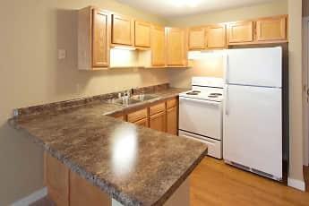 Kitchen, LaBlanche Apartments, 0