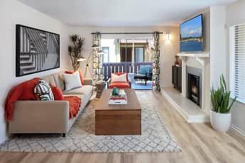 Living Room, Woodbridge Pines, 1
