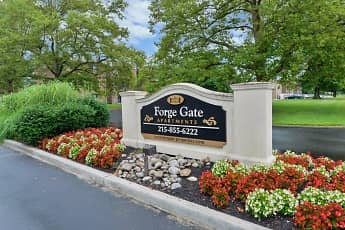Community Signage, Forge Gate Apartment Homes, 2