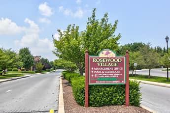 Community Signage, Rosewood Village, 2