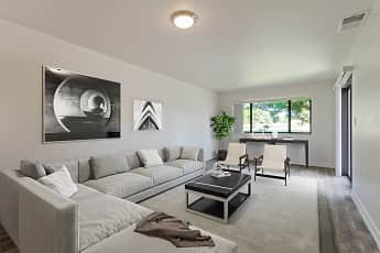 Living Room, Miramar Townhomes Military Housing (MCAS), 0