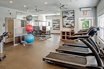 Fitness Weight Room, The Point at Plymouth Meeting, 0