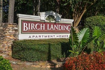 Community Signage, Birch Landing Atlanta Apartments, 0