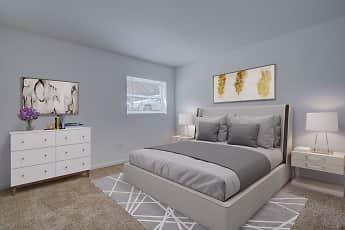Bedroom, Sterlingwood Apartments, 2
