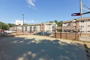 Basketball Court, Deer Ridge Apartments, 1