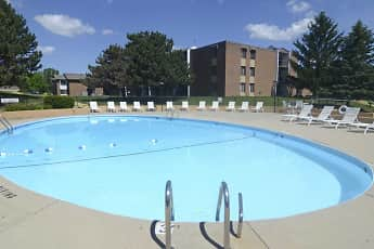 Pool, Park Plaza Apartments, 0