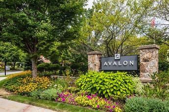 Community Signage, Avalon at Newton Highlands, 2