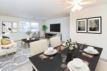 Dining Room, Woodcrest Apartment Homes, 1