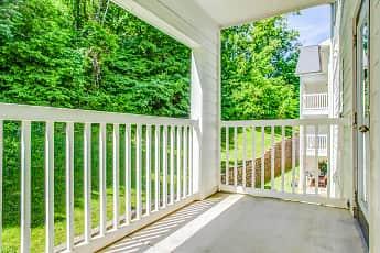 Patio / Deck, Walker Rosa Apartments, 2