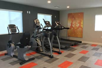 Fitness Weight Room, 1550 Apartments, 2
