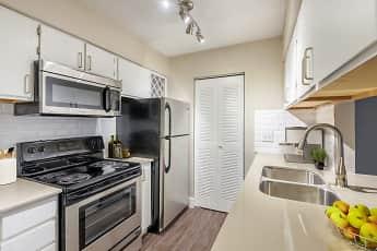 Kitchen, Copper Creek Apartments, 2