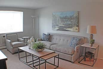 Living Room, Valley York Apartments, 0