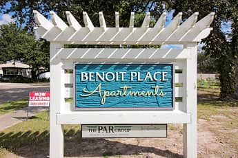Community Signage, Benoit Place Apartments, 2