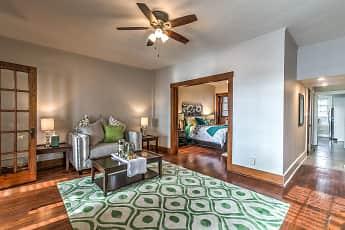 Living Room, Lancaster Flats, 0