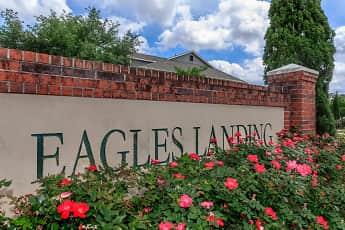 Community Signage, Eagles Landing Luxury Apartments, 2