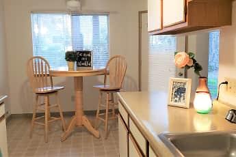 Kitchen, Farisswood Apartments, 0