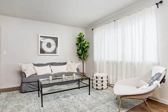 Living Room, University Crossing Apartments, 0