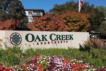Community Signage, Oak Creek Apartments, 0