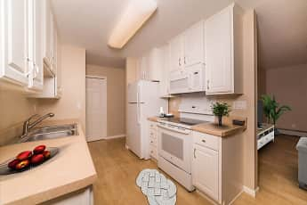 Kitchen, Carriage House Apartments, 0