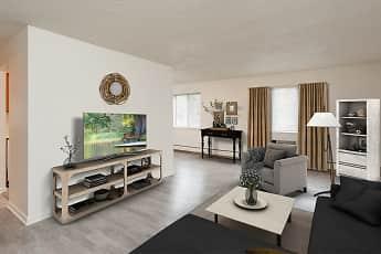 Living Room, Knollwood Manor, 0