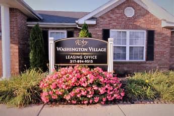 Community Signage, Washington Village Apartments, 0