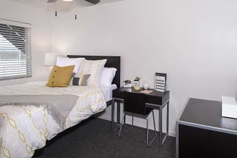 Bedroom, Legacy Student Living, 2