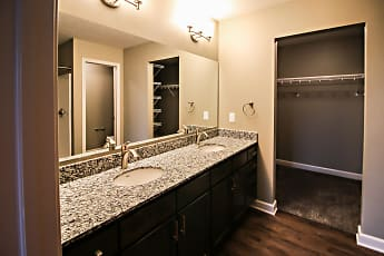 Bathroom, Summit Falls Apartments &Townhomes, 2