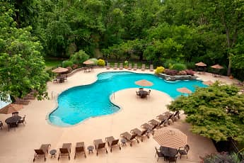 Pool, Rivercrest Apartments, 0