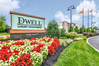 Community Signage, Dwell Luxury Apartments, 0
