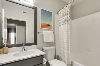 Bathroom, Keystone At Castle Hills, 1