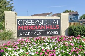 Community Signage, Creekside at Meridian Hills, 2
