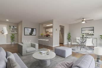 Living Room, Westchester Tower Apartment Homes, 1