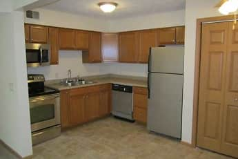 Kitchen, Colonial Gardens Apartments, 1