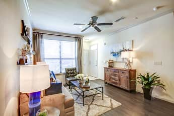 Living Room, The Crossing at Katy Ranch, 1