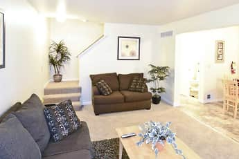 Living Room, Heritage Glen Townhomes, 0