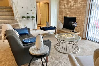 Living Room, Auburn Rental Townhomes, 0