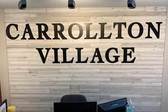 Community Signage, Carrollton Village, 0