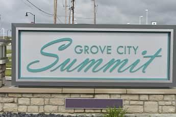 Community Signage, Grove City Summit, 2