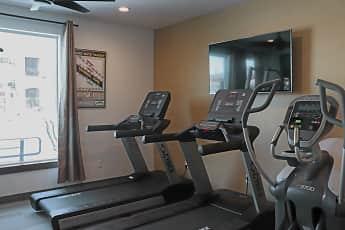 Fitness Weight Room, Season on Skyline, 2