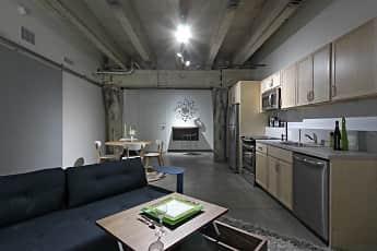Kitchen, Brew House Lofts, 0