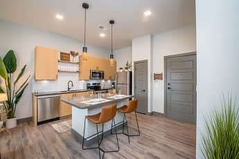 Kitchen, The Maddie Apartments, 0