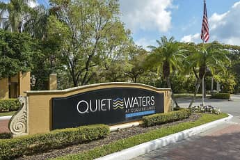 Community Signage, Quiet Waters Apartment Homes, 1