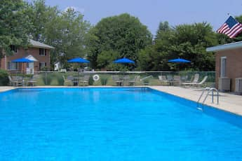 Pool, Homestead Garden Apartments, 0