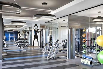 Fitness Weight Room, Eon Flagler Village, 0