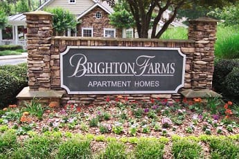 Community Signage, Brighton Farms Apartments, 0