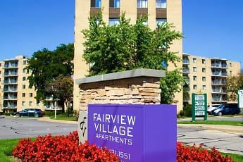 Community Signage, Fairview Village, 0