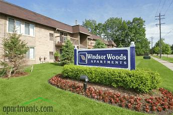 Community Signage, Windsor Woods Apartments, 0