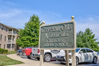 Community Signage, Georgetown Oaks Apartments, 2