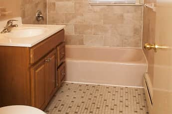 Bathroom, Villager Apartments/73 Myrtle Ave, 2