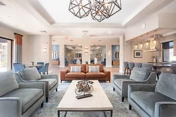 Living Room, Zinc Apartments, 1